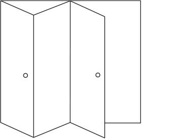 3 Folding Doors