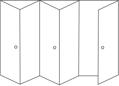 4 Folding Doors