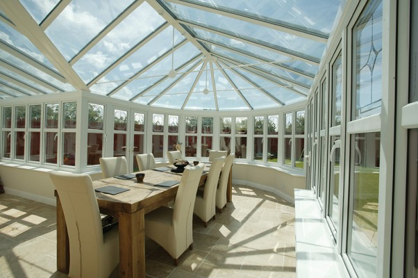 Spectus P-Shaped Conservatories