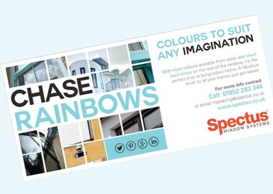Spectus Chase rainbows with the New Spectrum colour range