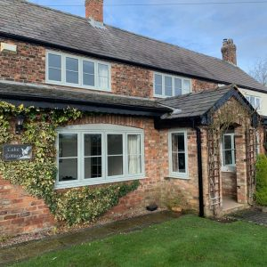 Irlam Glass have transformed this picturesque property with Spectus Windows