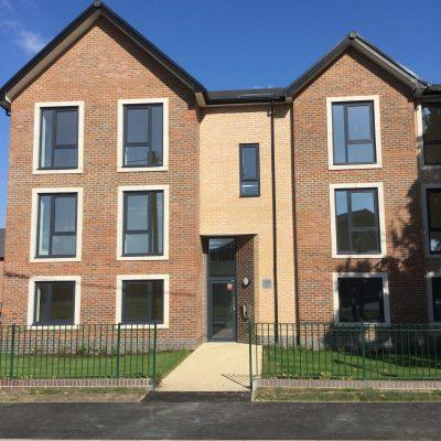 Spectus Spectus Flush Tilt & Turn Windows fitted in high profile social housing development