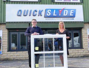 Sash window specialist Quickslide adds the Spectus Vertical Slider to its portfolio